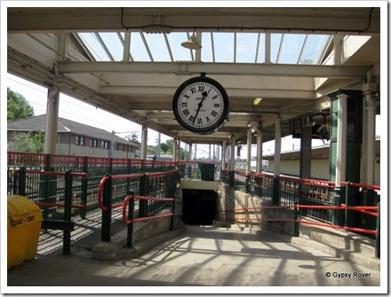 "Carnforth's famous ""Brief Encounter""  film clock."