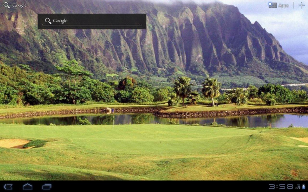 Golf Course Tablet Wallpapers- screenshot