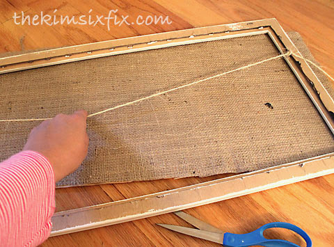 Checking clothesline frame