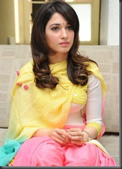 Beautiful Tamanna Images in Patiala Salwar Kameez
