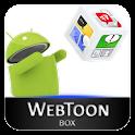웹툰박스 logo