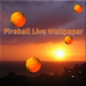 Fireball live wallpaper