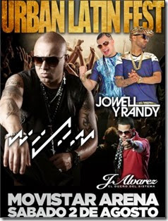 urban latin fest en chile 2014 comprar entradas baratas