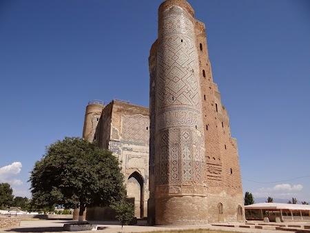 Orasul lui Timur Lenk: Ak Saray Shakrisabz