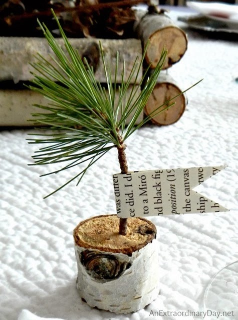 Pine-Sapling-Favor-Winter-Woodland-Tablescape-AnExtraordinaryDay.net_