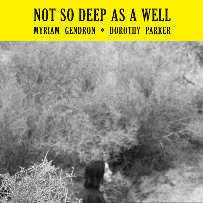 Myriam Gendron ~ Not So Deep As A Well