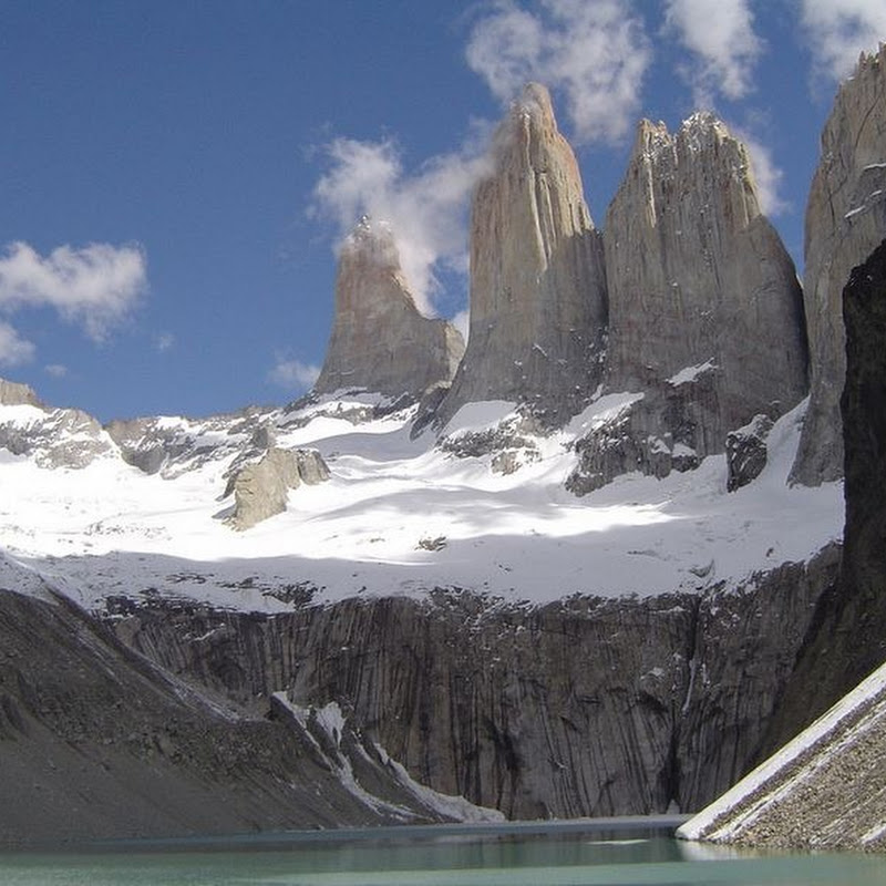Spectacular Granite Spires at Torres del Paine National Park