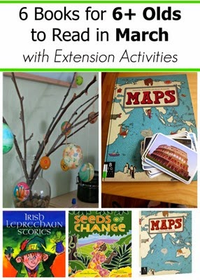 March Book Picks for Kids Age 6 and Up with Extension Activities
