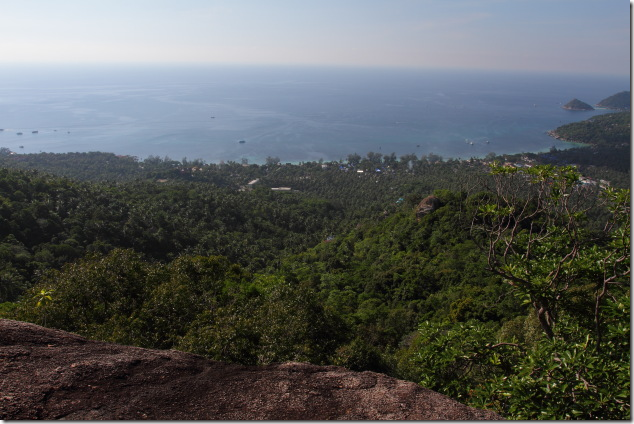 West Coast Mountain View Point at Koh Tao
