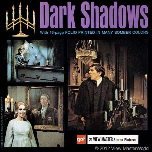 View-Master Dark Shadows (B503), Packet Cover