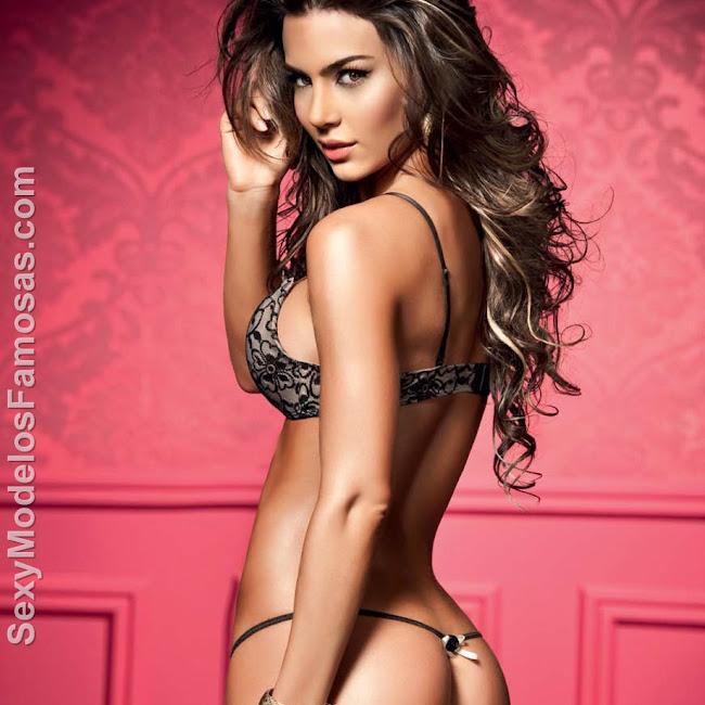 Natalia Velez Sexy Lenceria Besame Foto 9