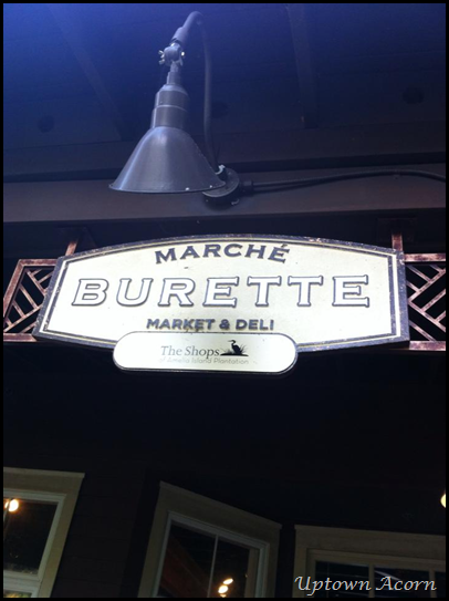 marche burette sign