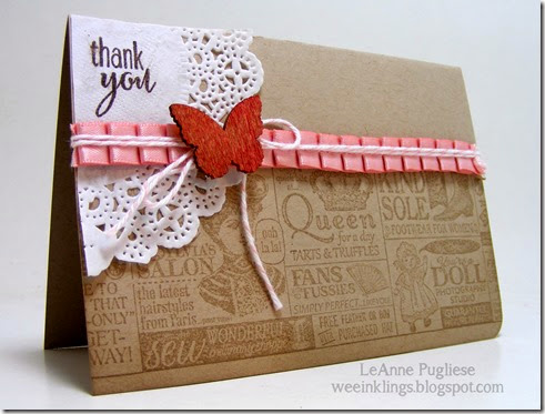 LeAnne Pugliese WeeInklings Shop Around Vintage Stampin Up