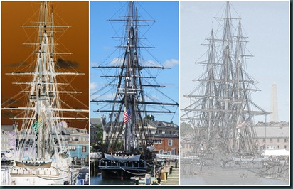 old ironsides collage