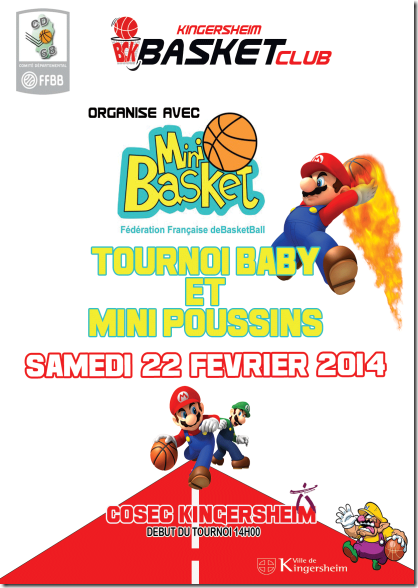 Tournoi mini-basket