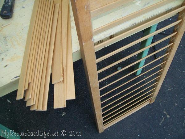 magazine rack shutter