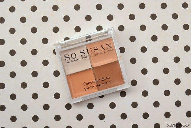 Glossybox March Unboxing Review So Susan Concealer Quad