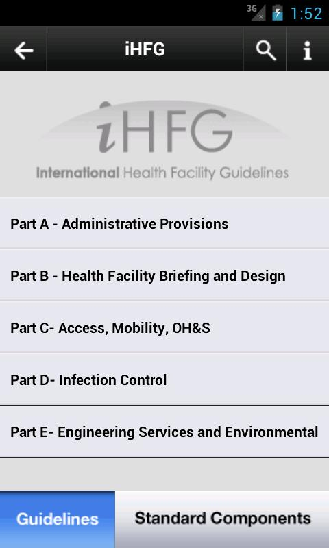 Health Facility Guidelines PRO- screenshot
