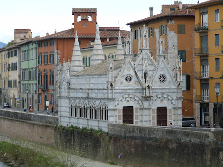 Obiective turistice Pisa: Santa Maria della Spina