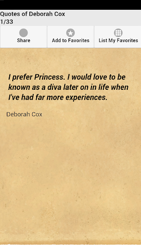 Quotes of Deborah Cox