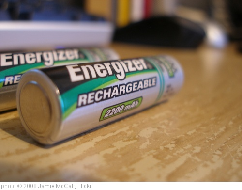 'Batteries' photo (c) 2008, Jamie McCall - license: http://creativecommons.org/licenses/by-nd/2.0/