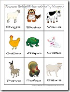 Click to download FREE Spanish Farm Flashcards from Living Life Intentionally