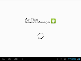 Screenshot of AviTice Remote Manager Control
