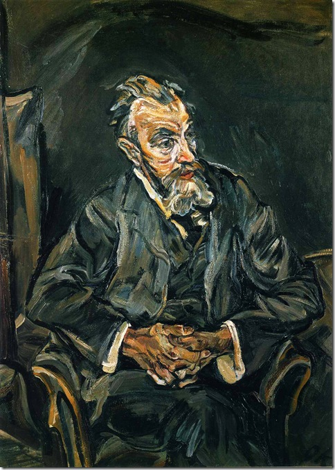 portrait-of-carl-moll_ Oskar Kokotcha