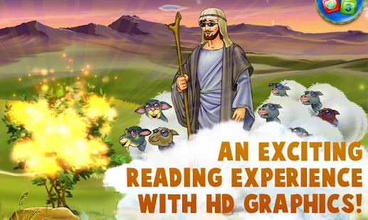 Moses - Kids Bible Story Book - screenshot thumbnail