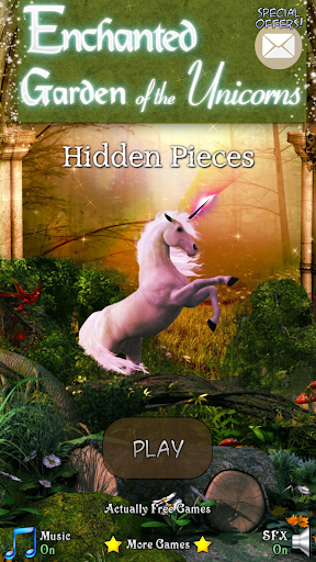 Hidden Pieces: Unicorn Garden