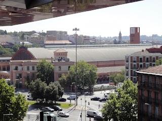 Gare Atocha à Madrid