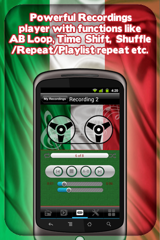 Italy Radio - With Recording - screenshot