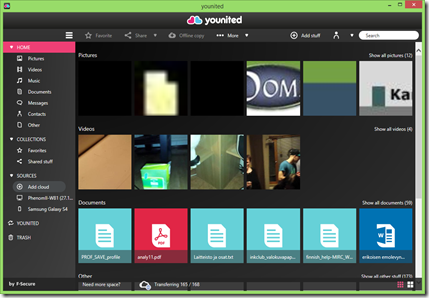 Younited Windows versio