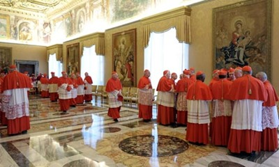 Cardinals-after-Pope resignation