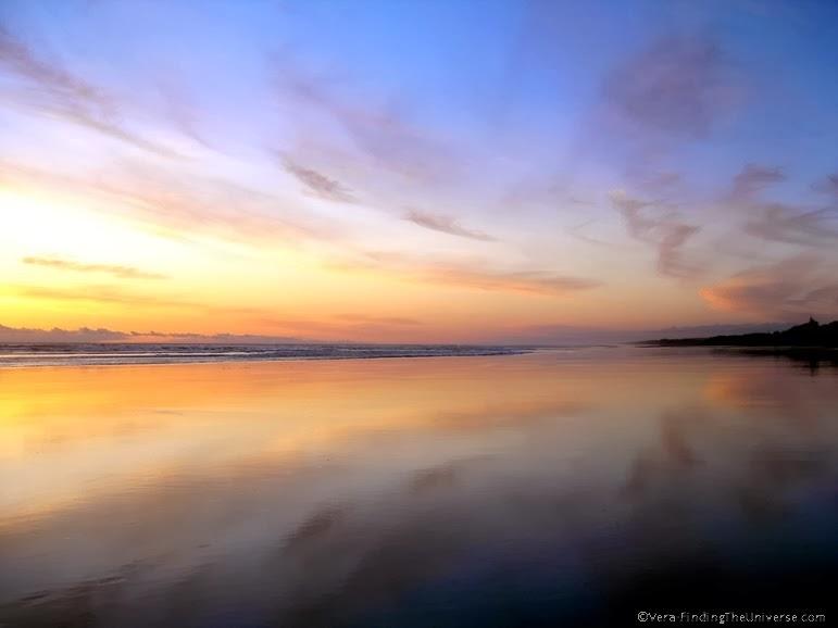 Sunset Muriwai Beach New Zealand