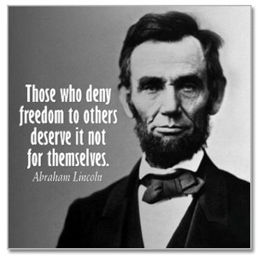 Abraham Lincoln Life 5 Quotes Links