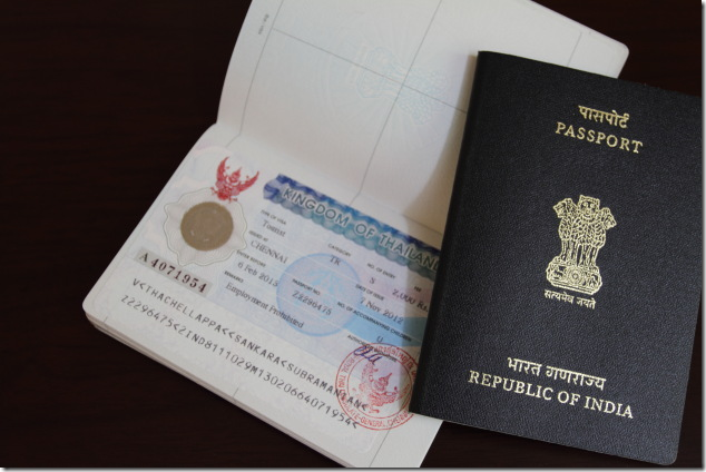 Thai visa for Indian passport holders
