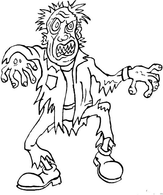 imágenes para pintar de zombies - imagui
