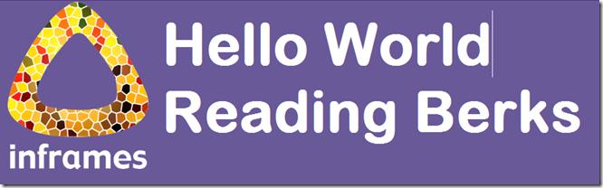 Step Four (2): Hello World!
