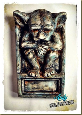 Andy-skinner-Grotesque gargoyle art