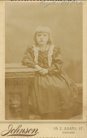 Cabinet Card Girl Brainerd Antiques