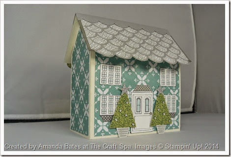 12 Days of Christmas, All is Calm House Mini Book, Amanda Bates, The Craft Spa,  (1)
