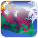 3D Welsh Flag Live Wallpaper icon