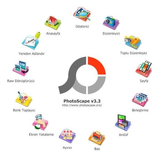 PhotoScape v3.6.5 Türkçe