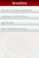 Screenshot of 10,000+ Recipes