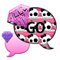 SkullBling1/GO SMS THEME icon