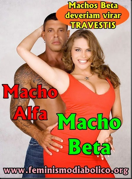 Machos Beta deveriam virar travestis