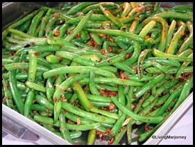 French Beans at Costales Nature Farm