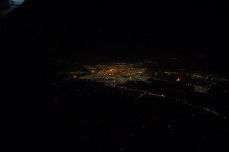 Bagdad fotografiat din avionul Qatar Airways