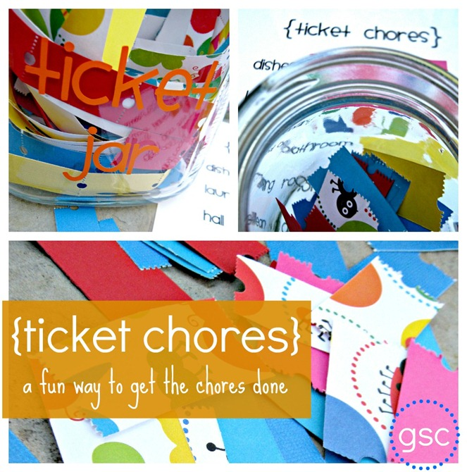 ticket chore jar